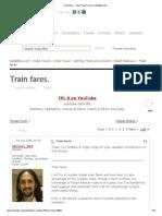 Train Fares. - India Travel Forum _ IndiaMike