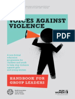 VoicesAgainstViolence Handbook en PDF