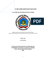 Dirasat Islamiyah Hasan Hanafi