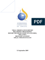 ICJ Tissa Trial Observation Report 11 Sept 09