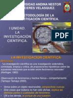Cap I - La Investigacion