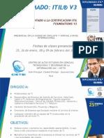 Diplomado Itil - Enero 2014