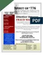 Vietnam Veterans of America Chpt. 776 September '09 Newsletter
