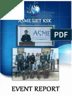 ASME UET KSK Event Report
