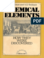 Chemical Elements How They Were Discovered