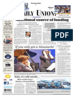The Daily Union. January 07, 2014