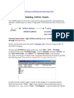 ARIMA model Building