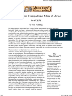 Pyramid - Adventurous Occupations - Man-At-Arms (for Gurps 4e)