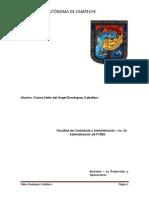 A-4 La Produccion y Operaciones
