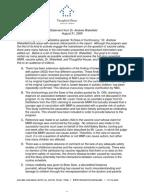 Argumentative essay for autism