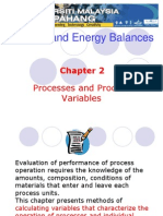 Chapter 2 Processes and Process Variables