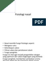 Fisiologi Nasal
