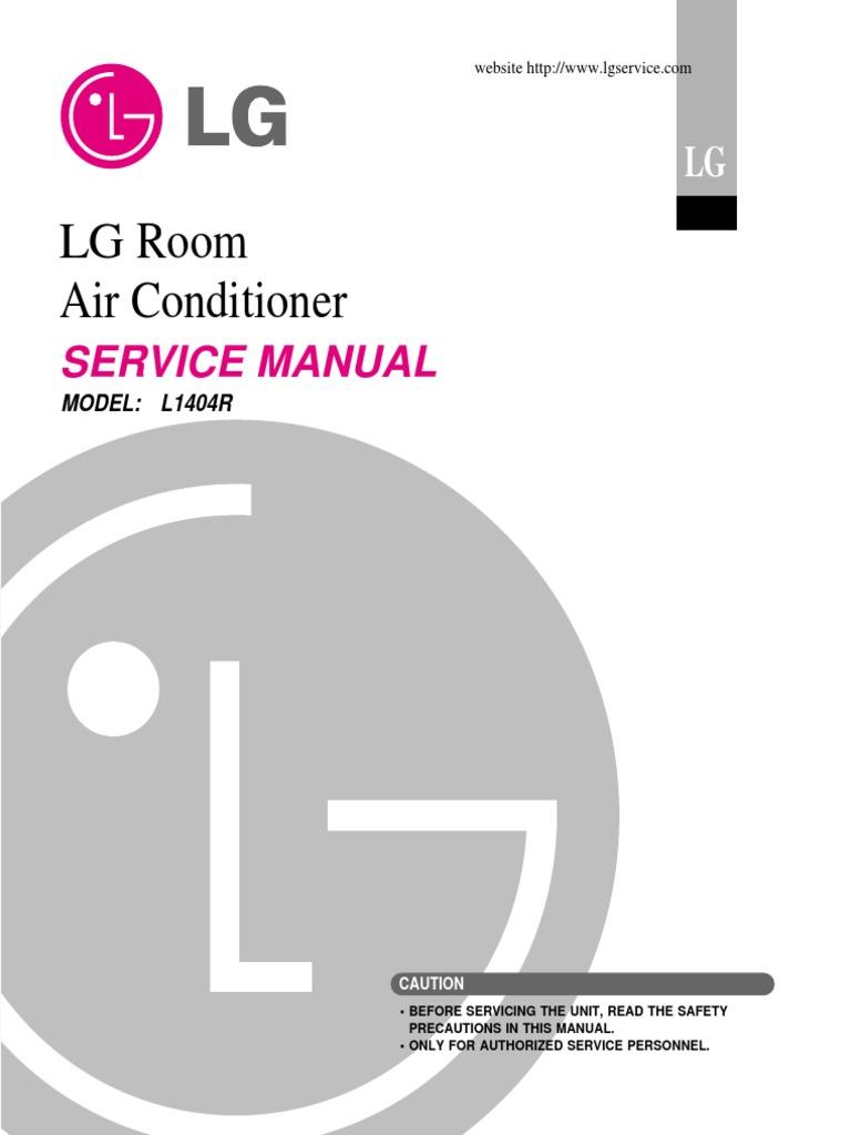 Lg l1404r 14000 btu window room air conditioner service manual lg l1404r 14000 btu window room air conditioner service manual heat exchanger air conditioning publicscrutiny Images