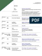Agenda Palafrugell Gener 2014