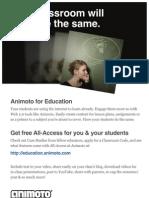 Education Printout Color