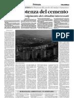 2008.03.27 - R. Gigliotti - La PrePotenza Del Cemento - Il Quotidiano Della Basilicata