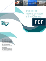 The Risk of Marine Pollution in the Channel 2013