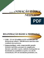 Reanima%c7%c3o b%c1sica Neonatal