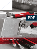Hilti Anchors Systems