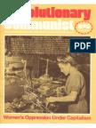 Revolutionary Communist #5 - Women's Oppression Under Capitalism