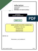 Sepedi+SAL+P1+Nov+2008+Memo+Limpopo