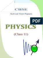 11 Physics Test Papers