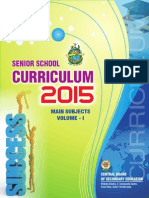 2015 Senior Curriculum Volume 1