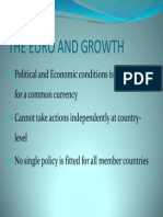 Euro and Growth