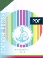 Edizioni Prosveta Catalogo 2013