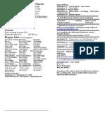 Locust Grove Bulletin for September 13, 2009