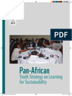 PanAfrican Youth Strategy on Learning for Sustainability (WWF - 2013)
