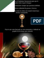 Visita Virtual Al Santisimo