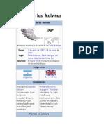 Guerra de Las Islas Malvinas!