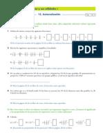 Ficha Autoevaluacion Fracciones Potencias y Raices