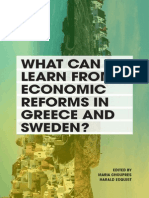 What can we learn from economic reforms in Greece and Sweden?