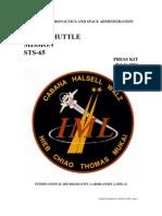 NASA Space Shuttle STS-65 Press Kit
