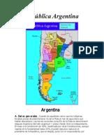 República Argentina!