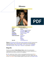 Rihanna en Español