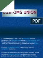 Custom Union
