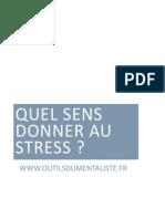 Livret Stress