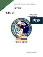 NASA Space Shuttle STS-63 Press Kit