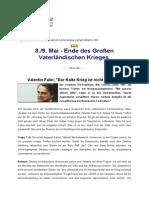 Valentin Falin Der Kalte Krieg Ist Nicht Zu Ende
