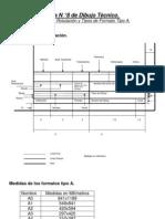 Guía N ° 8 de Dibujo Técnico ( Cuadro de Rotulación y Tipos de Formato Tipo A.)