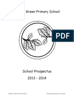 Emmer Green Primary School Prospectus 2013-2014