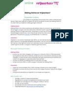 Stagiaire Afdeling Online & Vrijwerkers