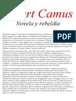 Camus Albert - Novela Y Rebeldia