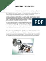 MOTORES de INDUCCION Electrcidad Industrial