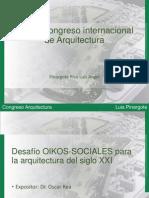 Primer Congreso Internacional de Arquitectura