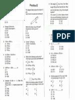 Lembaran Kerja Matematik