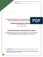 Mejoramiento Del Sistema de Agua Potable y Alcantarillado Por El Sistema Condominial en La Localidad de Canario i y II Del Distrito de Aguas Verdes